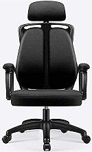 HZYDD Ergonomic Office Chair,Microfiber Desk Chair