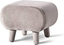 HZYDD Footrest Sofa Stool Small Ottoman Stool