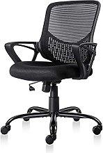 HZYDD New Office Chair Mesh Chair Computer Desk