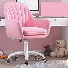 HZYDD Office Chair,Velvet Ergonomic Desk Chair