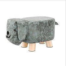 HZYDD Sofa Footstool Ottoman Pu Leather Footrest