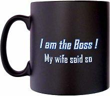 I am The boss My Wife Said Dad Fathers Klassek