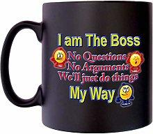I am The boss no buts Manager Leader Klassek Joke
