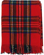 I LUV LTD Stewart Royal Tartan Red Tweed Sofa
