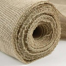 I Want Fabric 5 Metres NATURAL WOVEN JUTE BURLAP