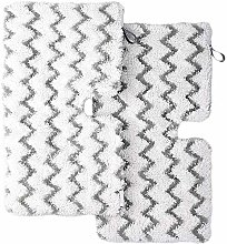 Iamagie 2 Pack Replacement Steam Mop Pads with