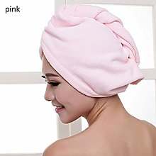 IAMZHL Microfiber Dry Hair Towel Cap Thicken