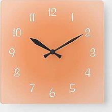 ian huan88 15 by 15-Inch Wall Clock, Misty Edges