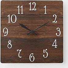 ian huan88 15 by 15-Inch Wall Clock, Wood Print