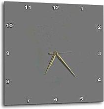 ian huan88 15 by 15-inch Wooden Wall Clock, Dark