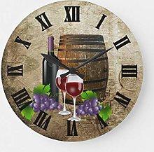 ian huan88 15 Inch Wooden lock, Wine Barrel and