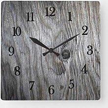 ian huan88 15 Inch Wooden Wall Clock, Beautiful