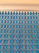 Ians Emporium BLUE Double Hook Aluminium Metal