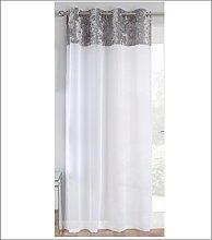 Ians Emporium Liberty Linen Sheer Voile Curtain