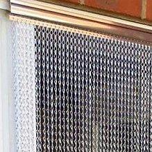 Ians Emporium SILVER Double Hook Aluminium Metal