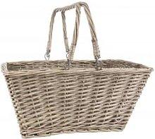 Ib Laursen - Wicker Basket with Handles