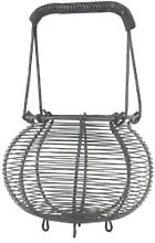 Ib Laursen - Wire Egg Onion Basket Small