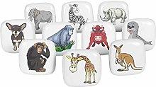IBA Indianbeautifulart Multicolor Assorted Animal