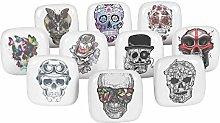 IBA Indianbeautifulart Multicolor Mix Skull