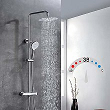 Ibergrif M21809 Thermostatic Shower System,