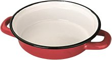 IBILI Egg Dish Roja 18 cm of Enamelled Steel in