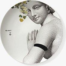 ibride Parnasse Print Decorative Porcelain Plates,