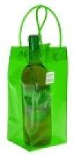Ice.bag 1 Bottle Wine Cooler-Acid Green-Pack OF 6,