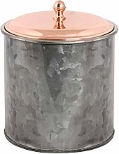 Ice Bucket - Black & Copper Insulated Bottle