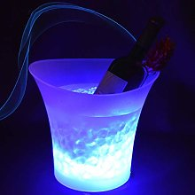 Ice Buckets for Bars LED Ice Bucket 5L Wine Cooler
