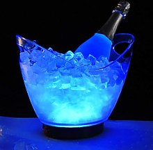 Ice Buckets for Bars Led Rechargeable Acrylic Ice