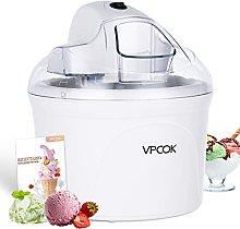 Ice Cream Maker VPCOK Ice Cream Machine 1.5 L