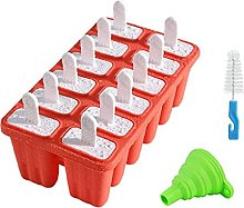 Ice Cream Moulds Set Ice Lolly Maker Tray with