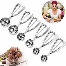 ice Cream Scoop with Trigger Mengger 6 Pcs