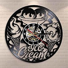 Ice cream shop wall clock kitchen decoration