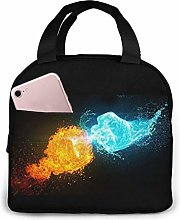 Ice & Fire Portable Lunch Bag Insulated Cooler Bag