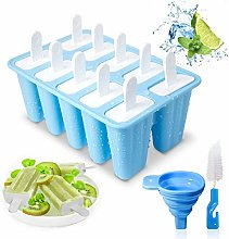 Ice Lolly Moulds 10 Cavities Ice Cream Mould