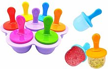 Ice Lolly Moulds and Sticks Baby Ice Cube Food