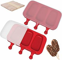 Ice Lolly Moulds - Silicone Ice Cream Lolly Mould