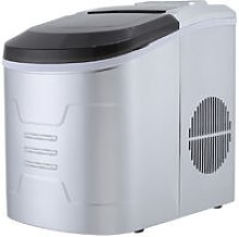 Ice Maker Portable Stainless Steel Countertop