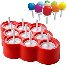 Ice Pop Mold Silicone Pop Maker BPA Free Popsicle