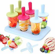 Ice Pop Mould Set, 6Pcs Mini Popsicle Mould, Food