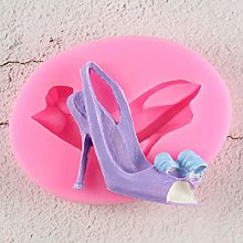 iceBoo High Heel Shoes 3D Silicone Fondant Mold