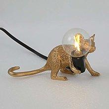 Icegrape Mouse Lamp Table Lights Shape Resin Desk