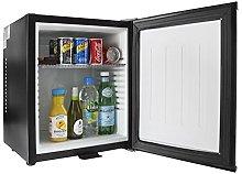 iceQ 24 Litre Deluxe Solid Door Black Mini Bar