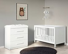 Ickle Bubba 2 Piece Nursery Furniture Set -