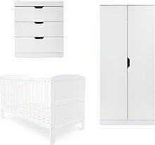 Ickle Bubba Coleby 3 Piece Nursery Furniture Set -