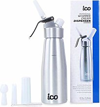 : ICO Professional Whipped Cream Dispenser for