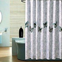 ICOCO Poly Bath Curtains, Shower Curtain Bathroom