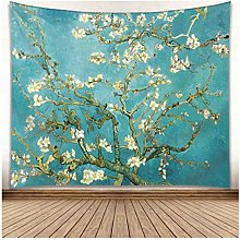 Icole Van Gogh Print Tapestry, Wall Rug, Wall