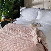 icon Luxury Velvet Throw Bedspread, 200cm x 150cm,
